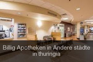 Billig Apotheken in Andere städte in thuringia